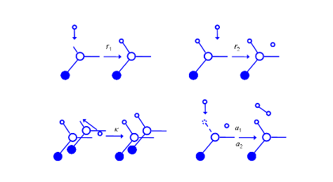 H adsorption on Si(001)